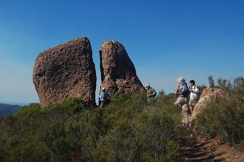 Splint Rock--The site of Henrys Cache