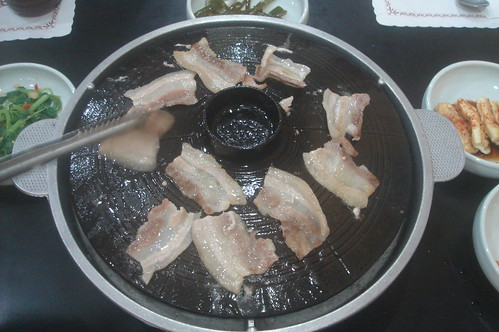 韓國鐵板烤肉_五花肉 2