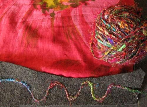 cotton, silk, wool
