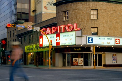 Capitol Theatre at Dusk