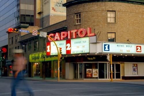 Capitol Theatre at Dusk