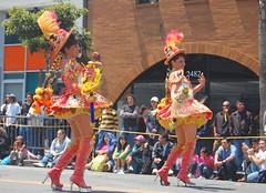 Bolivian dancers