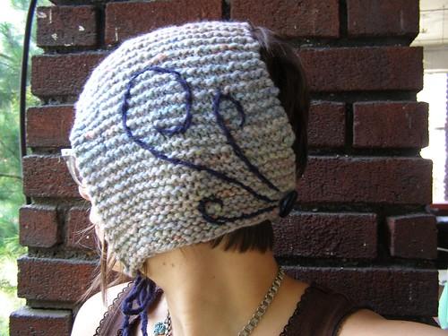 blue twirly bonnet