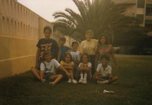Grupo amigos Oropesa 1992
