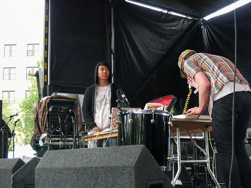Fuck Buttons @ Pitchfork 2008, Chicago 07/18/08