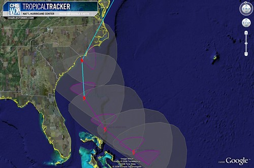 Tropical Storm Hanna 5am 09/04:  Wind Field