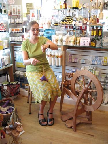 Rochelle spinning
