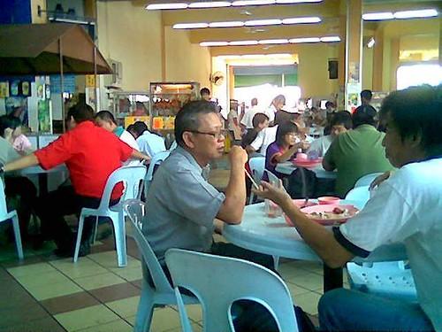 Sibu's Kopi O Cafe - lunchtime