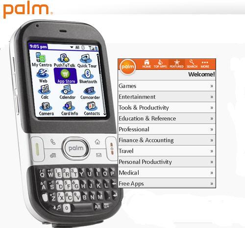palm app store