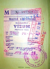 Hungary: visa and stamps