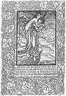 William Morris. Página del libro de Edward Burne - Jones.