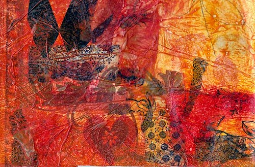 Fabric Paper On Tyvek 5