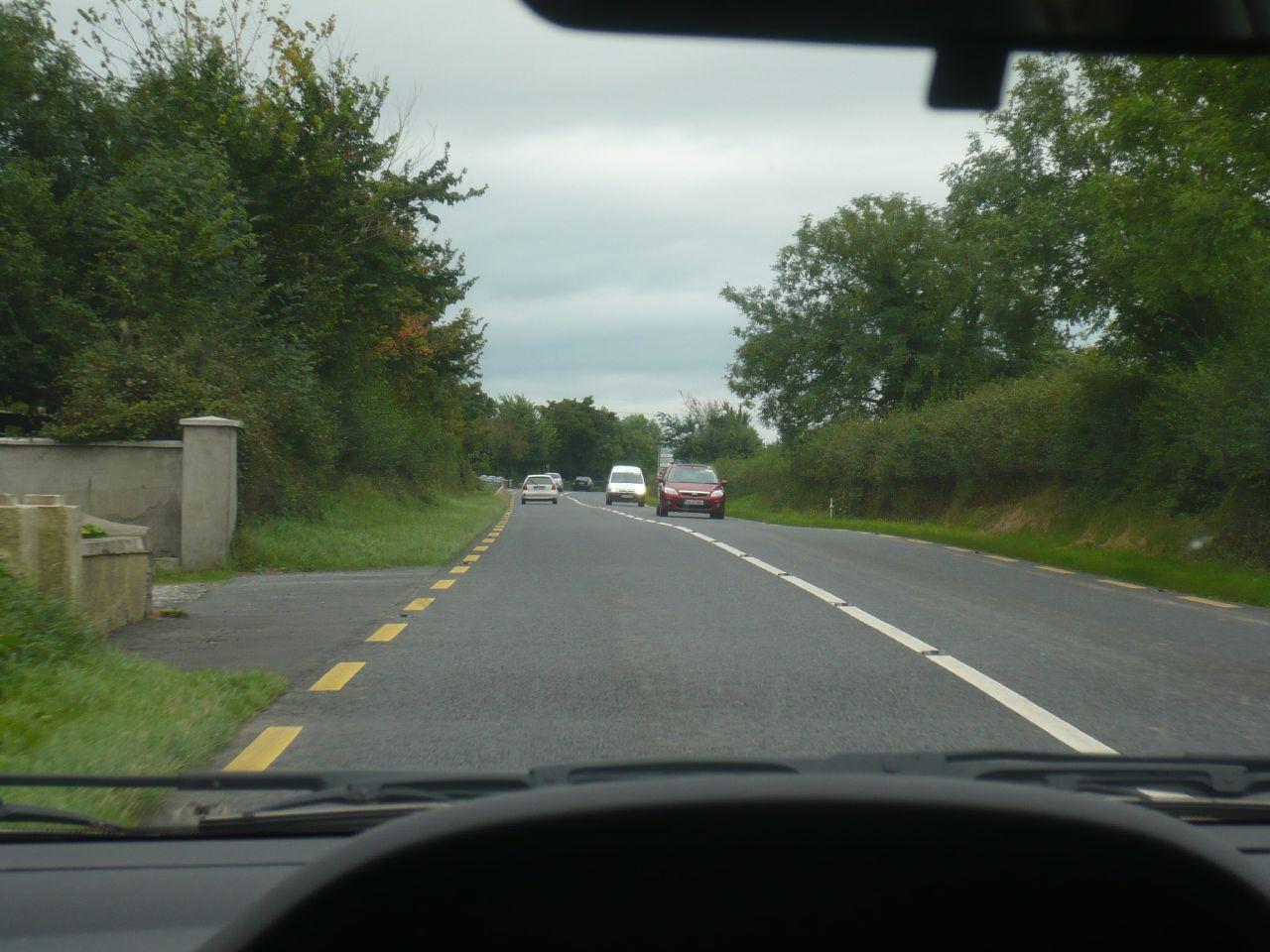 la carretera entre la 2ª y 3ª ciudad de Irlanda.. de chiste