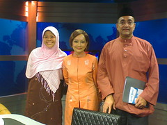 Sha with Anne Edwards and Mr Akwal (AKPK CEO)
