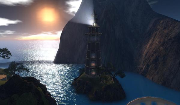 Vernian Sea Lighthouse Exterior