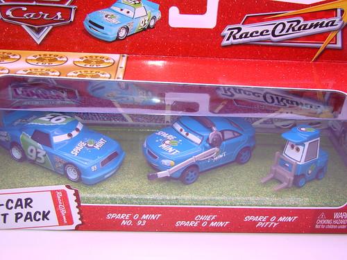 CARS Team Spare O Mint opened