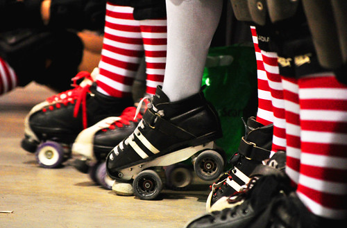 Roller Derby - Skate of Emergency