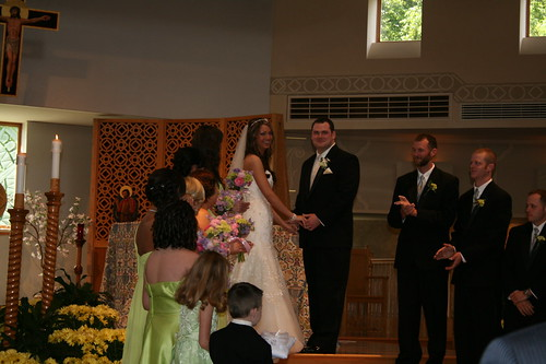 The new Mr. and Mrs. : )