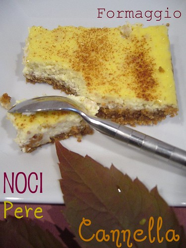 Cheese, noci, pere e cannella