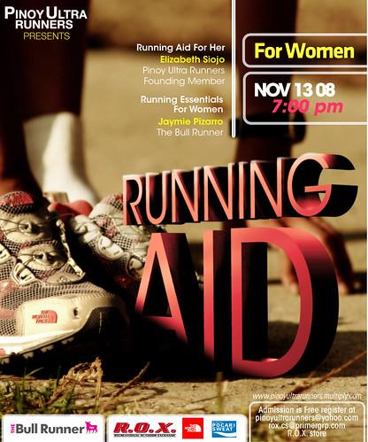 Running Aid for Women