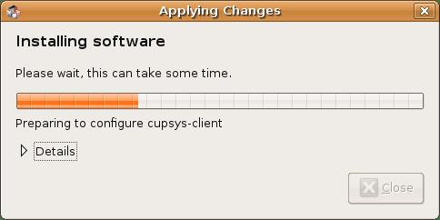 Lakukan update lengkap pada Ubuntu 8.04