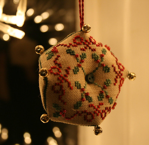 Christmas Biscornu
