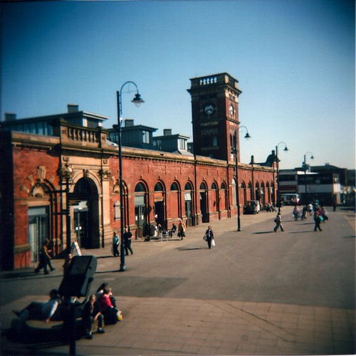 Ashton Market (from Town Hall steps)