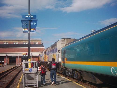 gare de Halifax - trainstation