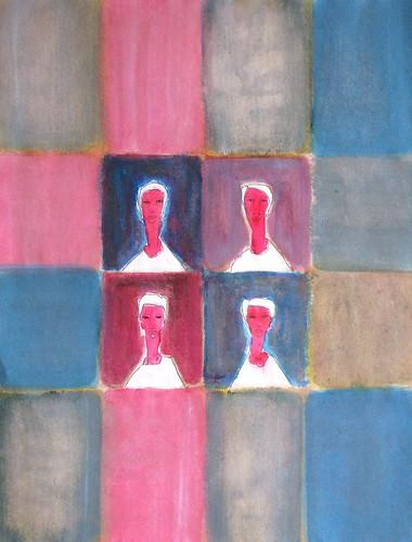 Cuatro amigos, de Juan Mildenberger