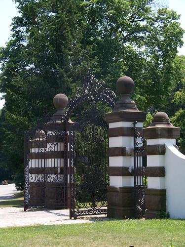 Estate Gate - Originally from Idle Hour