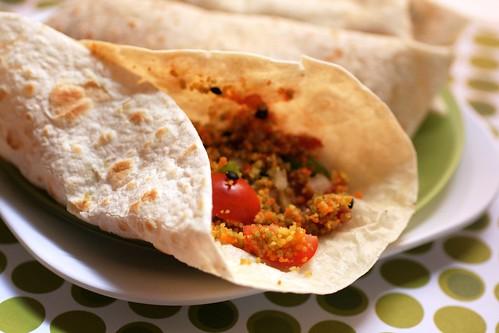 couscous burrittos