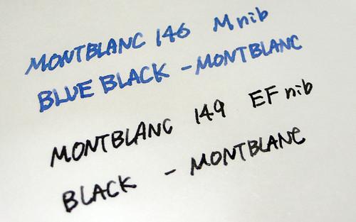 MONTBLANC M & EF