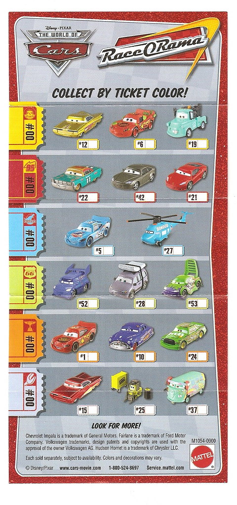 race o rama mini poster