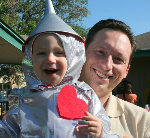 Little Tin Man & Dad