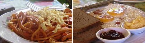 Special Spaghetti & American Breakfast Set