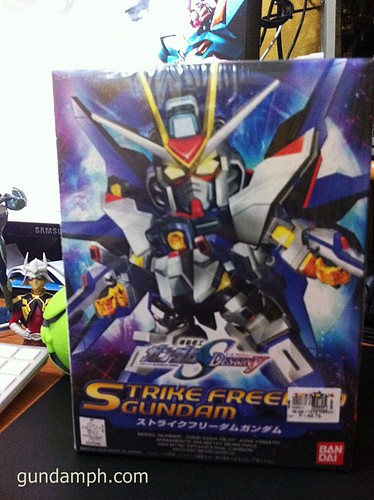 SD Strike Freedom front