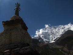 Annapurna y pagoda