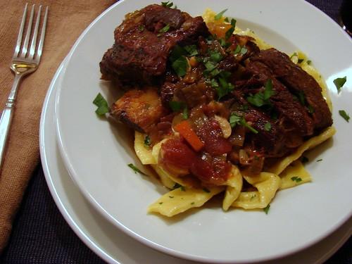 Dinner:  December 7, 2008
