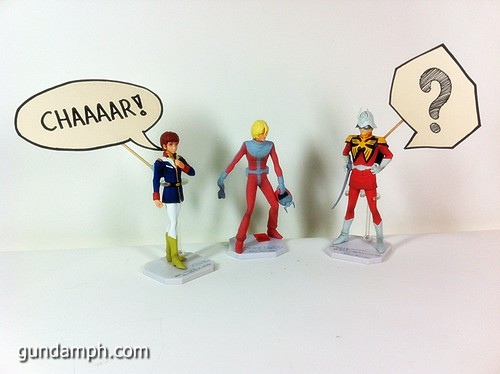 Funny Gundam Pilot Figures (8)