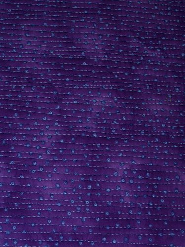 purple quilting
