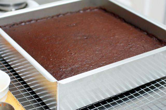 12-inch chocolate cake
