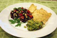 Black Bean Salad and Guacamole (by mharvey75)