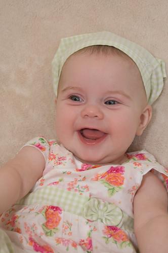 Madeleine 5 Month Portrait-1