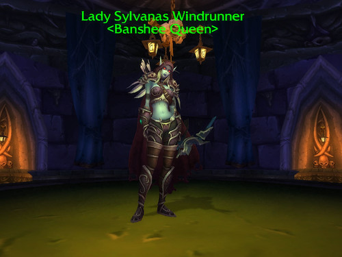 Lady Sylvanas Windrunner, Banshee Queen