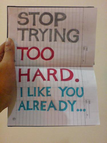 I still use my note book