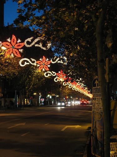 Alumbrado ornamental navideño Cordoba. Derroche de Energia Eléctrica