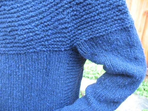 Cobblestone Sleeve detail