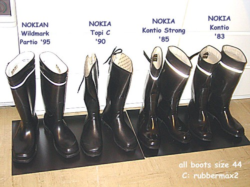 part of my NOKIA boot-collection