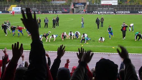 Jubelszenen nach dem 3-1-Sieg gegen Schermbeck in der letzten Saison