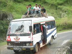 El transporte tipico
